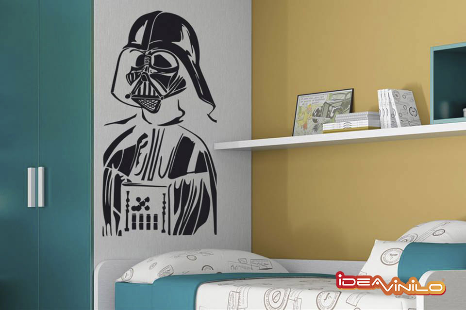 Los personajes que entran en mi habitaci n para decorar for Decoracion de cuarto star wars